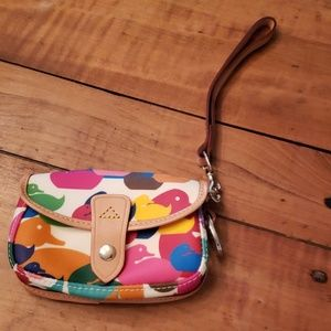 Dooney Bourke Duck Wristlet New